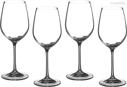Набор бокалов для вина из 4 шт. БАР 350 мл.ВЫСОТА=23 СМ. (КОР=12Набор.) - Crystalex