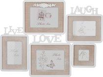 Фотоколлаж На 5 Фото Коллекция Семейный Альбом 61,5x46x1,5 см - Polite Crafts&Gifts