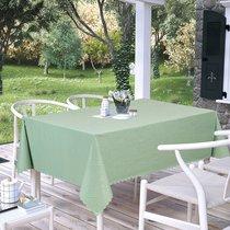 Скатерть Karna Prapitka Gofrali тефлон, цвет зеленый, 160x210 - Karna (Bilge Tekstil)