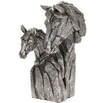 Дикий Мир Бюст лошади 16x24 см - Lesser & Pavey
