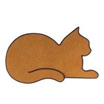 Коврик придверный Cat коричневый, цвет коричневый - Balvi