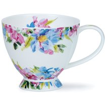 "Чашка чайная Dunoon ""Голубые цветы"" 450мл - Dunoon"