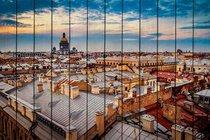 Закат в Санкт-Петербурге 60х90 см, 60x90 см - Dom Korleone