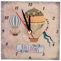 Часы Balloons 2 10x10 см - ГлассМун