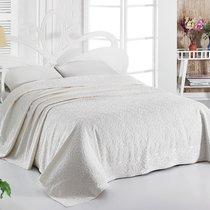 Простынь махровая Karna Esra, цвет кремовый, размер 160x220 - Karna (Bilge Tekstil)