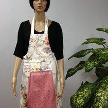 Фартук кухонный Karna с салфеткой 30x50, цвет брусничный - Bilge Tekstil