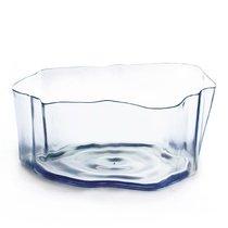 Органайзер Flow малый прозрачный, цвет прозрачный - Qualy
