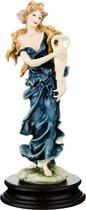 Статуэтка Вдохновение Высота 25 см Глянцевая, цвет синий - P.N.Ceramics
