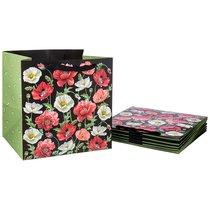Комплект Бумажных Пакетов Из 10 Шт. Маки 30x30x25 см - Vogue International