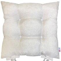 """Подушка на стул """"Бьянка"""", P705-Z102/2, 41х41 см, цвет бежевый - Altali"""