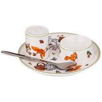 Набор Для Завтрака 3Пр. Пальчики Оближешь! Д 14,5см В 6см - Shunxiang Porcelain