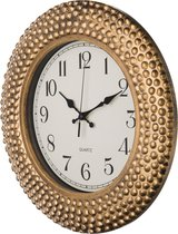 Часы Настенные Кварцевые Italian Style Диаметр 38 см Цвет: Античное Золото Циферблат Диаметр 24 С - Arts & Crafts