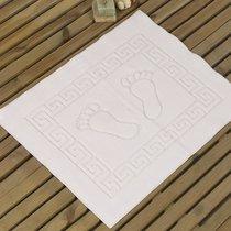 Коврик для ванной Likya, цвет белый, размер 50x70 - Karna (Bilge Tekstil)