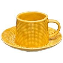 Чайная Пара На 1 Персону Concept 2 Пр. 200 Мл Желтый - Lianjun Ceramics