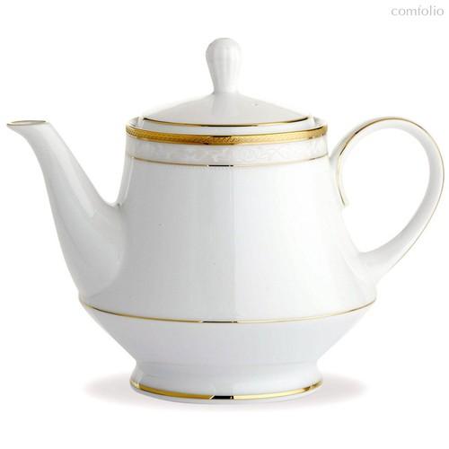 """Чайник 1,1л """"Хэмпшир, золотой кант"""" - Noritake"""