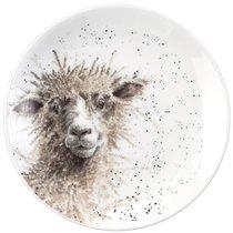 """Тарелка десертная Royal Worcester """"Забавная фауна"""",""""Овца"""" 16,5см, костяной фарфор - Royal Worcester"""