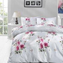 Постельное белье Ranforce Ela, цвет ментоловый, размер Евро - Altinbasak Tekstil