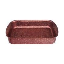 Форма Agness Премиум Red Queen Прямоугольная 25Х19X5,5 см, Трехслойное Покр Granit, Pfoa Free - ISFA Metal Tekstil