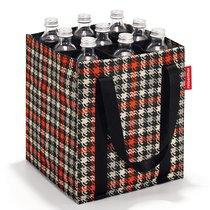 Сумка-органайзер для бутылок Bottlebag glencheck red - Reisenthel