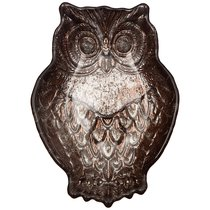 Блюдо Owl Brown 17Х12Х3,5 см Без Упаковки - Akcam