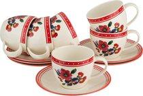 Чайный Набор На 6 Персон 12 ПрАмели 240 Мл - Oriental Ceramics