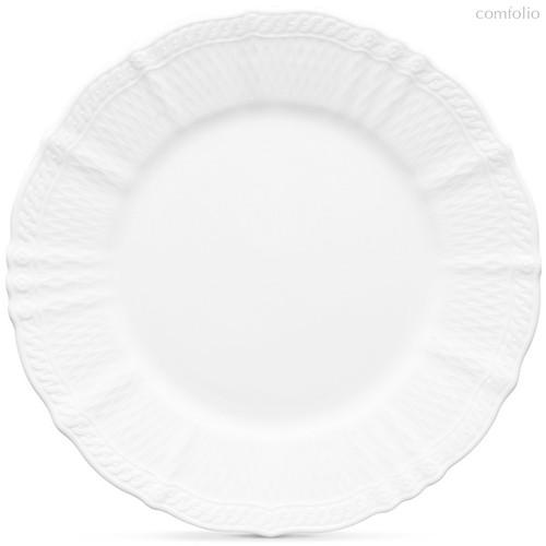 "Тарелка обеденная 27,7см ""Шер Бланк"", 27 см - Noritake"