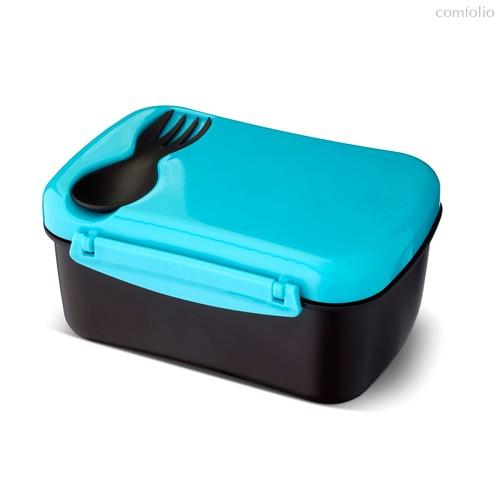 Ланч-бокс с охлаждающим элементом N'ice Box™ бирюзовый, цвет бирюзовый - Carl Oscar