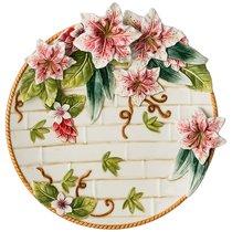 Тарелка Настенная Декоративная Лилия, Диаметр 27 см - Hebei Grinding Wheel Factory