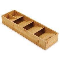 Органайзер для столовых приборов DrawerStore Bamboo деревянный - Joseph Joseph