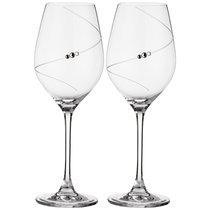 Набор Бокалов Для Белого Вина Из 2 Штук Силуэт 360 мл - Diamante