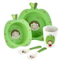 Набор детской посуды Arthur Price Bambino Яблоко, 5 предметов, бамбук, п/у - Arthur Price