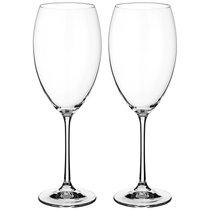 Набор бокалов для вина из 2 шт. GRANDIOSO 600 мл ВЫСОТА 26 см (КОР 12Набор.) - Crystalex