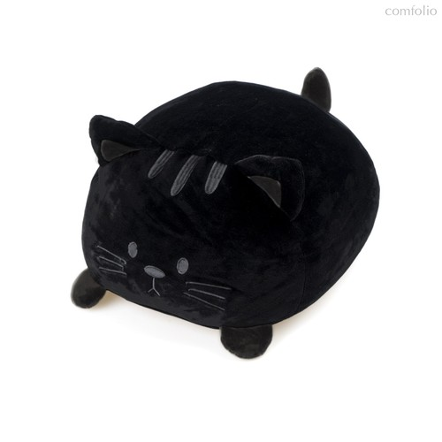 Подушка диванная Kitty черная, цвет черный - Balvi