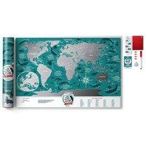 Карта Travel Map Marine World - 1DEA.me