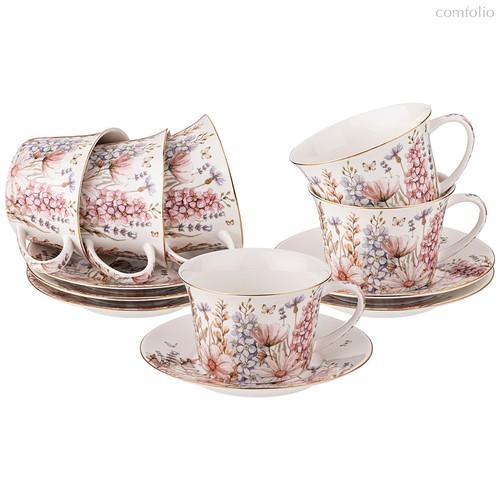 Чайный Набор Lefard Дворцовый Парк 260 мл 12 Пр. На 6 Пер. - Kingensin Porcelain Industrial