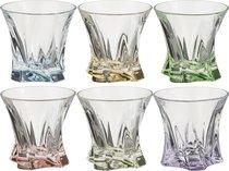 Набор стаканов ДЛЯ ВИСКИ из 6 шт. COOPER MIX 320 мл ДИАМЕТР 10 см ВЫСОТА 9 см - Aurum-Crystal