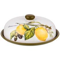 Блюдо Для Блинов Лемон Три 23x23 см Высота 10 см - Huachen Ceramics
