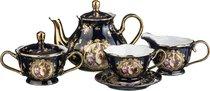 Чайный Сервиз На 6 Персон 15 Пр. Lefard Светское Общество Кобальт