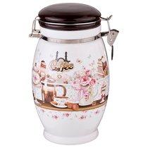 Емкость Для Сыпучих Продуктов Coffee Высота 20 см / 1100 мл - Huachen Ceramics