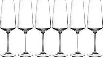 Набор Бокалов Для Шампанского Из 6 шт. Aria 350мл Высота 24см - RCR