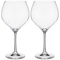 Набор бокалов для вина SOPHIA из 2 шт. 650 мл ВЫСОТА 22,5 см (КОР 24Набор.) - Crystalex