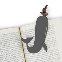 Закладка для книг Moby Dick, цвет серый - Balvi