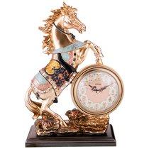 Часы Настольные Кварцевые Лощадь 29X13, 5X41 см Диаметр Циферблата 13 см - Shantou Lisheng