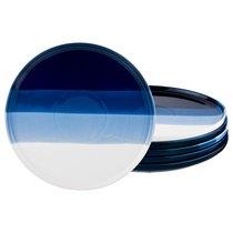 Набор Тарелок Десертных Из 6 шт. Диаметр 25 см Коллекция Бристоль, цвет синий, 25 см - Hebei Grinding Wheel Factory
