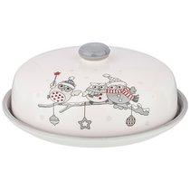 Блюдо Для Блинов Коллекция Совята Диаметр 23 см,Высота 10 см - Zhenfeng Ceramics