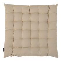 Подушка на стул из хлопка бежевого цвета из коллекции Essential, 40х40 см - Tkano