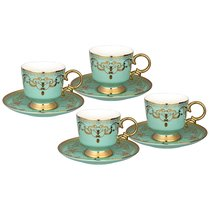 Чайный Набор Lefard На 4 Персоны 8 Пр. 250 мл Голубой - Rongshengyuan