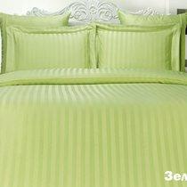 Постельное белье Karna Perla, бамбук, цвет зеленый, размер 2-спальный - Karna (Bilge Tekstil)