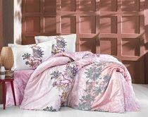 """Постельное белье """"RANFORCE NEON"""" 1,5 сп 50х70*1шт ESMERALDA, цвет розовый, 1.5-спальный - Altinbasak"""