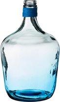 Бутыль Декоративная Высота 30 см Голубая - Vidrios San Miguel